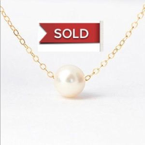 Jewelry - FREE W/ PURCHASE Pearl Choker/Clavicle Necklace
